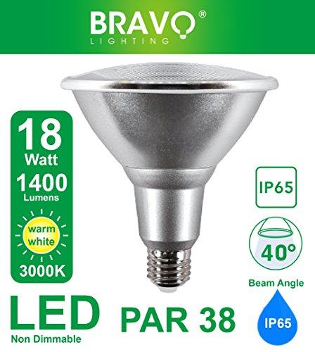 Bravo Lighting PAR38 18W IP65 LED E27 Equivalent