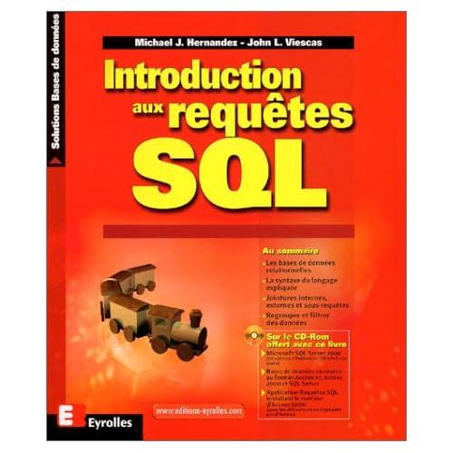 Introduction aux requêtes SQL : solutions bases de données