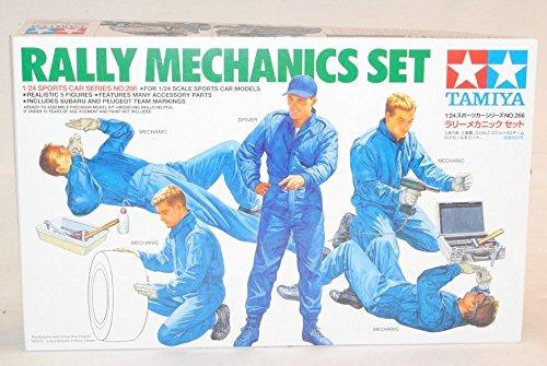 TAMIYA Figuren Mechaniker Rally 24266 Kit Bausatz 1/24 Modell Auto Modell Auto