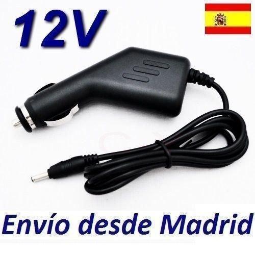 Cargador Coche Mechero 12V Reemplazo Reproductor DVD AIRIS LW281 LW 281 Recambio Replacement