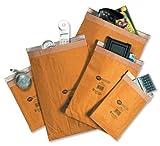 Jiffy Gepolsterte Versandtaschen Mini Pack No. 5 (245 x 381 mm), 10 Stück braun