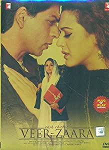VEER ZAARA (ORIGINAL BOLLYWOOD DVD)(PLUG & PLAY)
