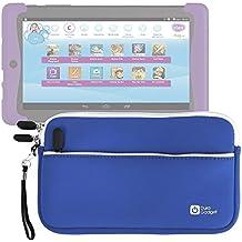 DURAGADGET Funda De Neopreno Azul Para Cefatronic - Tablet Clan Motion Pro - Con Bolsillo Exterior + Correa De Mano