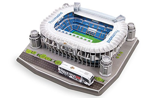 Giochi Preziosi 70202011 - 3D Stadion-Puzzle Santio Bernabeu Madrid