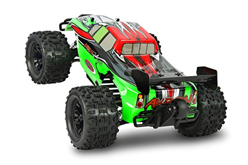 Akron Monstertruck 1:10 BL 4WD Lipo 2,4G- Allrad, Brushless, Akku, 60Kmh, Aluchassis, spritzwasserfest, Öldruckstoßdämpfer, Kugellager, Fahrwerk einstellbar, fahrfertig - 4