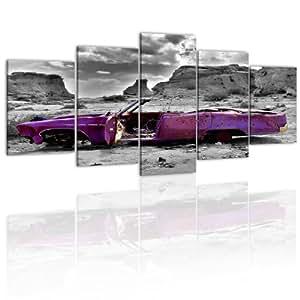 200x100!!! RIESEN-FORMAT + Bild auf Leinwand + 5 TEILIG + Wandbilder 051379 + 200x100 cm +++ RIESEN BILDER KUNSTDRUCK WANDBILDER AUSWAHL IN UNSEREM HAENDLERSHOP +++