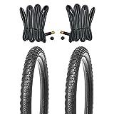 Kujo Reifen Set 20x1.75 inkl. Schläuche mit Autoventilen Mrs. Marble