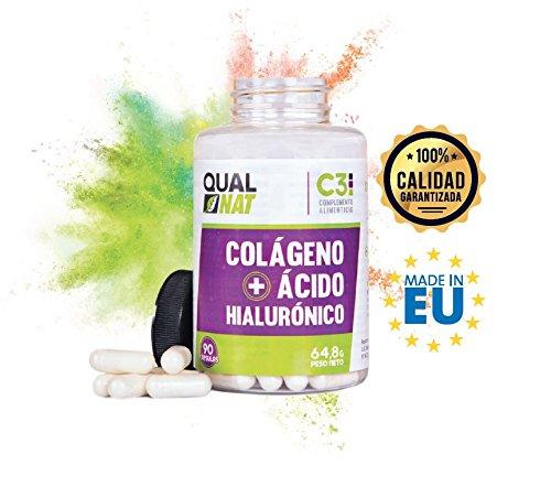 Kollagen mit Hyaluronsäure für eine gesunde Haut – Collagen mit Vitamin C und Zink zur Unterstützung der Elastizität und Gesundheit der Knochen und Gelenke – 90 Kapseln