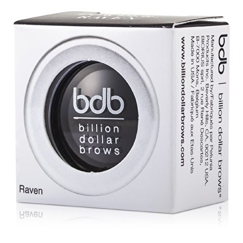 Fard à sourcils Noir - Brow Powder Raven - Billion Dollar Brows