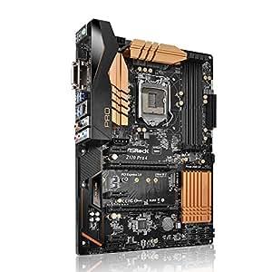 ASRock Z170 Pro 4 Intel 1151 Scheda Madre, Nero