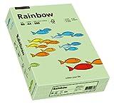Papyrus 88042629 Druckerpapier Rainbow 80 g/m², A4 500 Blatt mittelgrün