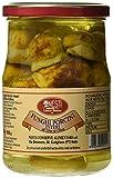 Nesti Conserve Alimentari Funghi Porcini Interi all' Olio di Oliva - Pacco da 6 X 520 g