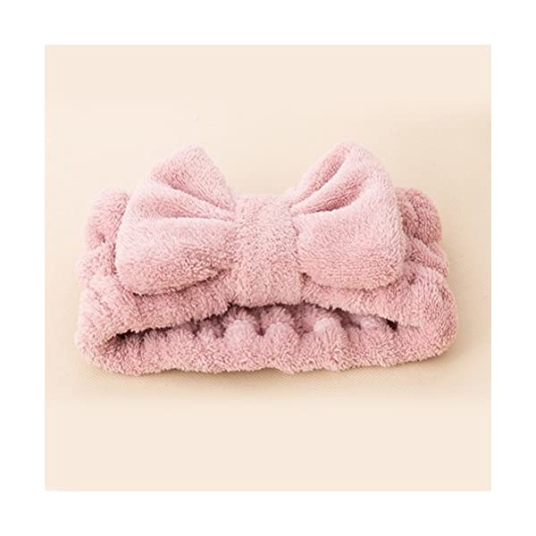 FRCOLOR - Fascia per capelli da donna elastica per il trucco del viso, trattamenti cosmetici e doccia, 3 pezzi 2 spesavip