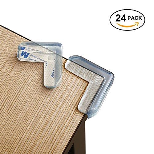 Eckenschutz und Kantenschutz für Kindersicherung, für Tisch und Möbel Ecken, selbstklebende...