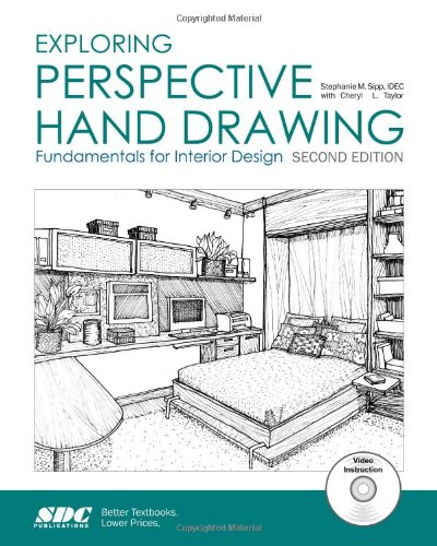 Exploring Perspective Hand Drawing: Fundamentals for Interior Design