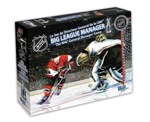 NHL Big League Manager Board Game - Ottawa Vs Anaheim by BLM Games