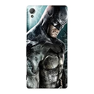 Enticing Premier Knight Force Multicolor Back Case Cover for Xperia Z4