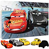 Disney Adventskalender Cars Puzzle Radierer - Kinder Weihnachtskalender - Advent - Weihnachten - Mc Queen Kalender