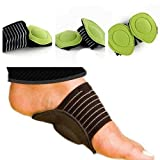 niceEshop(TM) 2pcs Arch Support and Foot Massager Kit Plantar Fasciitis Cushion for Women and Men