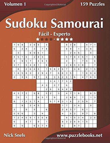 Sudoku Samurai - De Fácil a Experto - Volumen 1 - 159 Puzzles: Volume 1