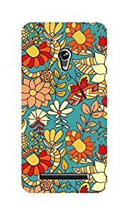 SWAG my CASE Printed Back Cover for Asus ZenFone 5