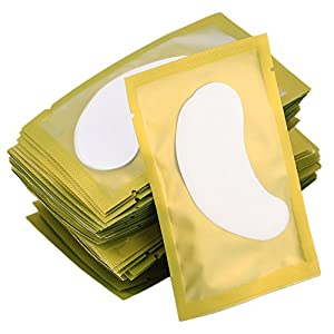 50PCS Patch di carta Ciglia sotto occhi Pads Lash Ciglia Consigli di carta