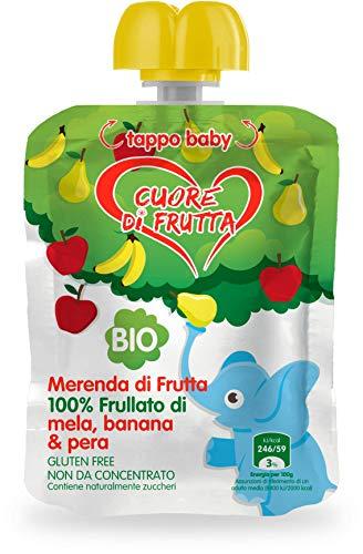 Cuore Di Frutta Frullato di Frutta 12 x 90 gr