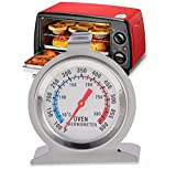 #3: BuyWorld 1Pcs Food Meat Temperature Stand Up Dial Oven Thermometer Stainless Steel Gauge Gage Large Diameter