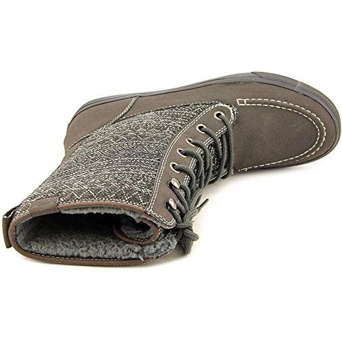 Roxy Chesapeake Damen Rund Faux Wildleder Mode Mitte Calf Stiefel Grey