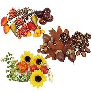 com-four® 16x Setas de Madera para la elaboración y decoración, figuritas de Madera para arreglos de otoño, Coronas, Bodas y cumpleaños, 3 cm (16 Piezas – Setas de Madera)