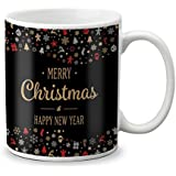 LOF Merry Christmas And New Year Wishing Gift For Girls Boys Friends Ceramic Coffee Mug