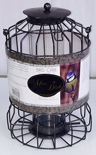 Crown Crest Squirrel Proof Metal Nut Feeder - Large Cage Bird Feeder 1