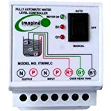 imagine technologies Fully Automatic Metal Water level Controller and Indicator with 3 Sensors (White)