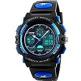 E-future-SKMEI-Teenagers-Boys-50M-Waterproof-Analogue-Digital-Military-Sports-Watch-Blue