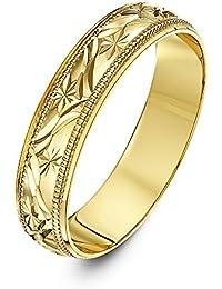 80fd40f96927 Oro amarillo - Anillos   Mujer  Joyería - Amazon.es