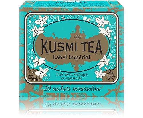 Thé Label Impérial 20 sachets KUSMI TEA, 44g