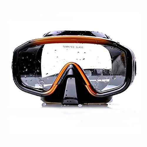 ILOVEUS Profi Tauchmaske Anti-Fog Tauchen Schnorcheln Silikon Maske Tauchen Ausrüstung Erwachsene Schnorcheln Set