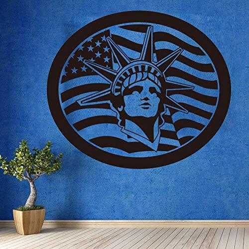 Marmorstatue Material Sofa Zurück Accessorise Wohnzimmer Schlafzimmer Abnehmbare Wandaufkleber Wandbilder 85x74 cm