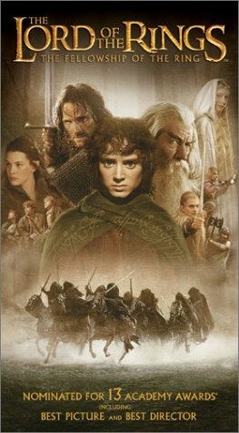 The Lord of the Rings: The Fellowship of the Ring [VHS]