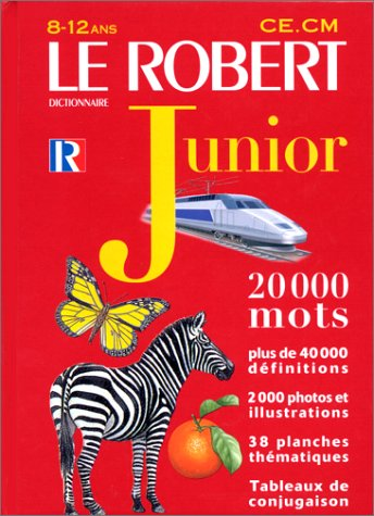 Le Robert junior illustré : Dictionnaire 8 à 12 ans - CE - CM (+ Supplément éthymologie) par Collectif