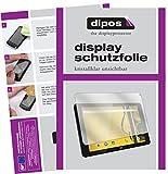 dipos I 2X Schutzfolie klar passend für Archos Kodak Tablet 10,1 Zoll Folie Bildschirmschutzfolie