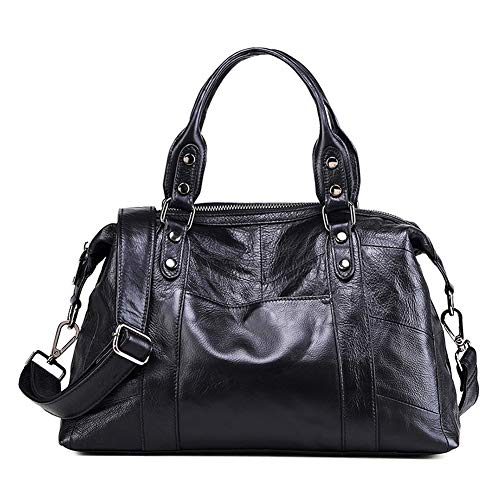 GONGYU Mode Leder Damen Umhängetasche einfache große Kapazität tragbare Messenger Bag 37,0 cm * 26,0 cm * 4,0 cm