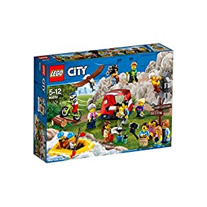 LEGO 60202 City Town People Pack - Avventure all'aria aperta 5702016108958 LEGO