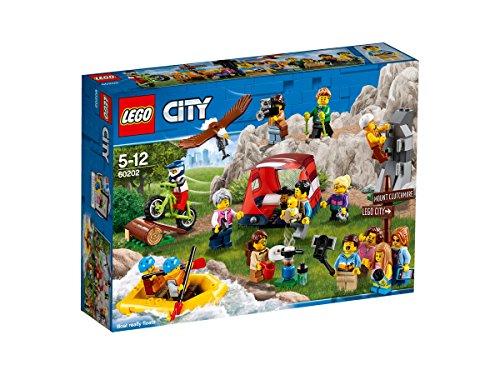 (LEGOCity Stadtbewohner – Outdoor-Abenteuer (60202) Kinderspielzeug)