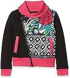 Desigual Mädchen Sweatshirt Sweat_Andersen, Schwarz (Negro 2000), 152 (Herstellergröße: 11/12)