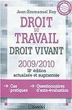 Image de Droit du travail : Droit vivant 2009-2010