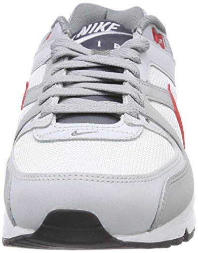 Nike Air Max Command, Sneaker Homme Blanc (White/University Red/Pure Platinum/Cool Grey)