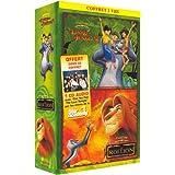 Le Roi Lion / Le Livre de la Jungle 2 - Bipack 2 VHS