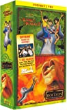 Le Roi Lion / Le Livre de la Jungle 2 - Bipack 2 VHS [Inclus le CD audio Can You Feel - Star Academy 3]