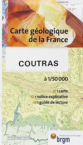 Carte géologique : Coutras